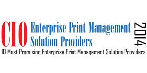 Enterprise Print Management Solution Providers 2014